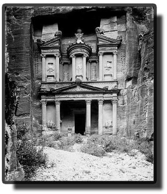 Petra old photo