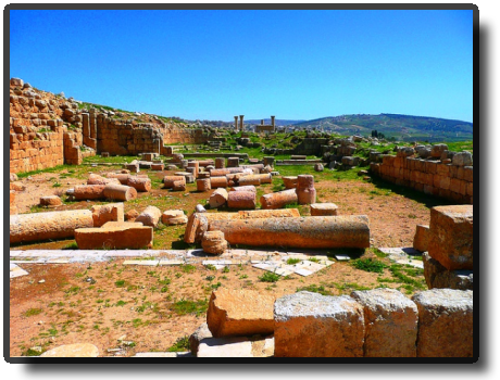 Jerash - Church of St. Genesius