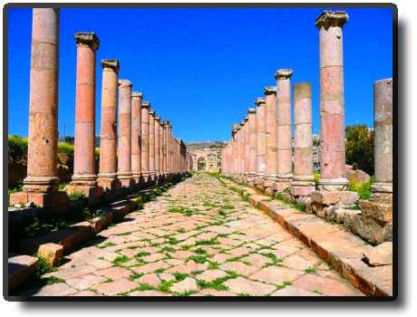 Jerash - North Colonnaded Street