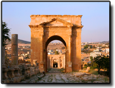 Jerash - North Tetrapylon
