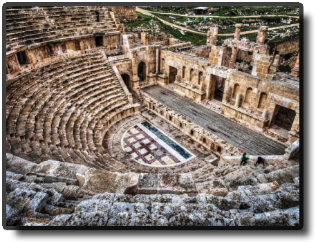 Jerash - North Theater