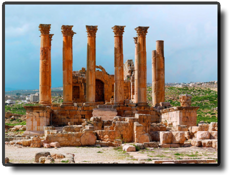 Jerash - Temple of Artemis