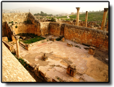 Jerash - Three Churches