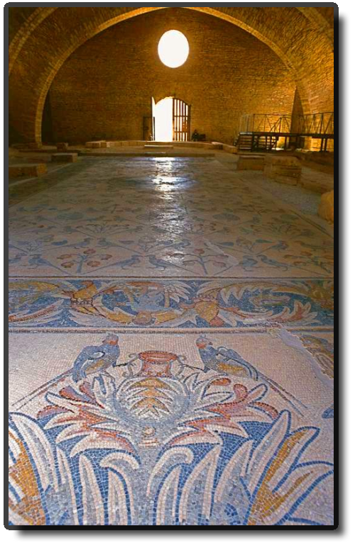 Mosaic floor at Madaba