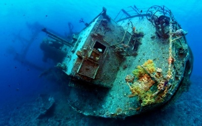 Diving sites In Aqaba - Cedar Pride-Ship Wreck