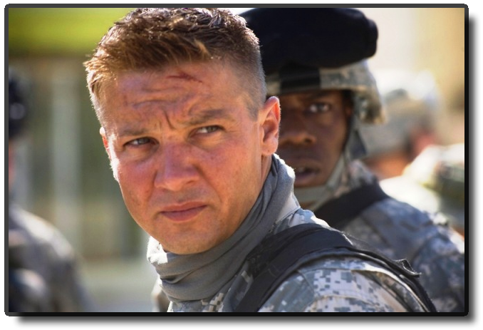 Jeremy Renner - the hurt locker